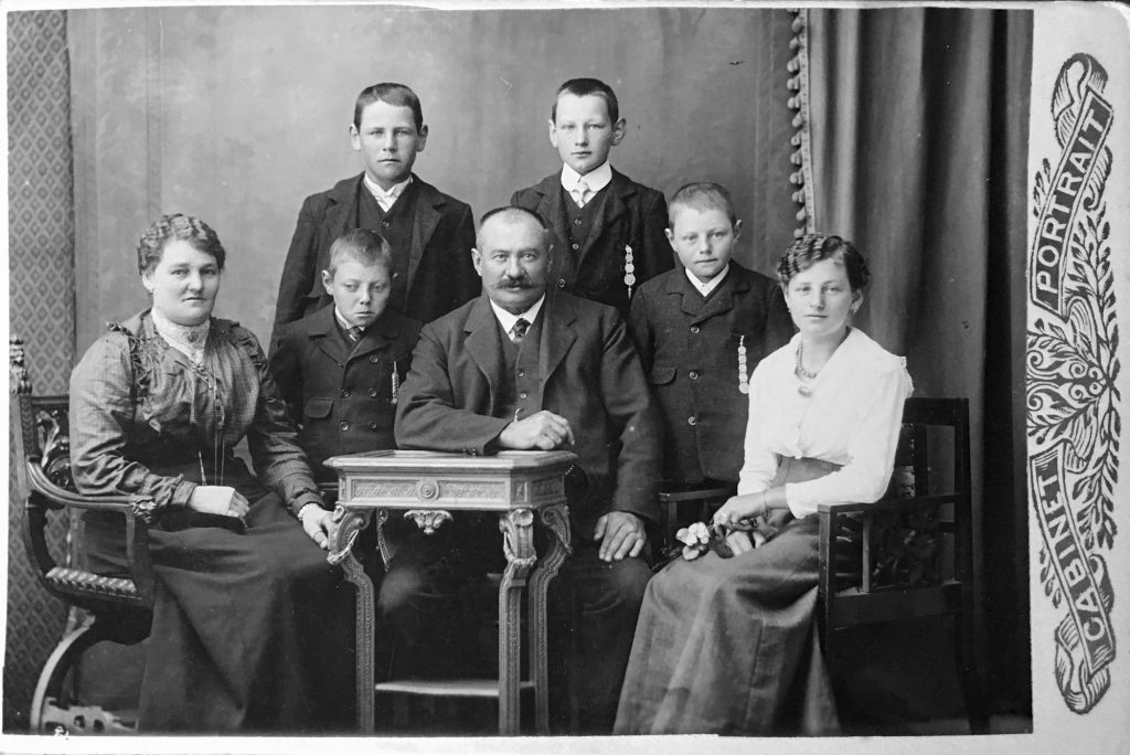 0. Generation Anna senj, Johann jun, Johann sen, Paul, Franz, Anna jun